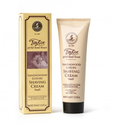 Taylor of Old Bond Street Sandalwood Shaving Cream Tube