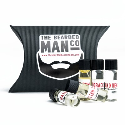 The Bearded Man Company Sample Kit