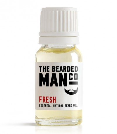 The Bearded Man Company Fresh Beard Oil 10 ml