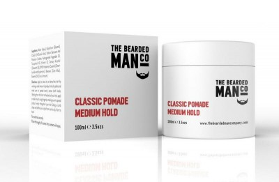 The Bearded Man Company Classic Pomade Medium Hold