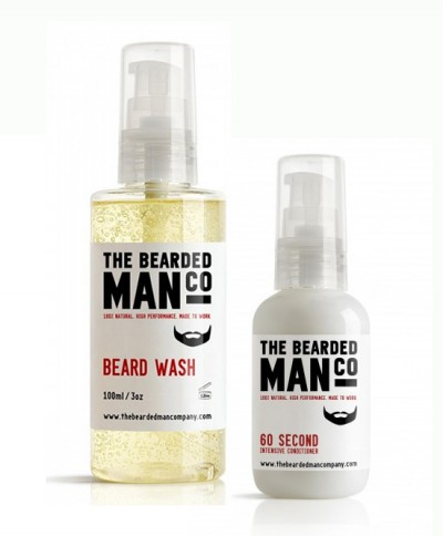 The Bearded Man Company Beard Wash + Conditioner