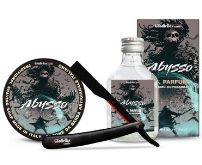 The Goodfellas' Smile Abysso Shaving Kit with Razor