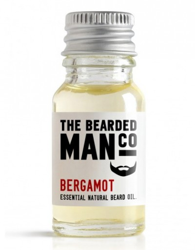 The Bearded Man Company Beard Oil Bergamot 10 ml