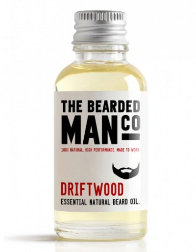 The Bearded Man Company Beard Oil Driftwood 30 ml