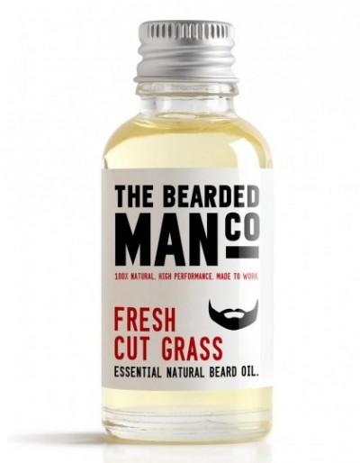 The Bearded Man Company Beard Oil Fresh Cut Grass 30 ml