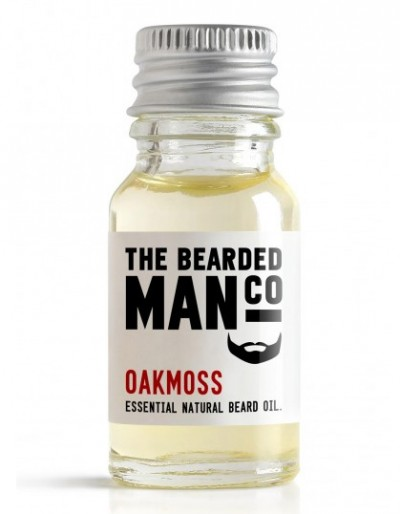 The Bearded Man Company Beard Oil Oakmoss 10 ml