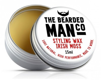 The Bearded Man Company Moustache Wax Irish Moss
