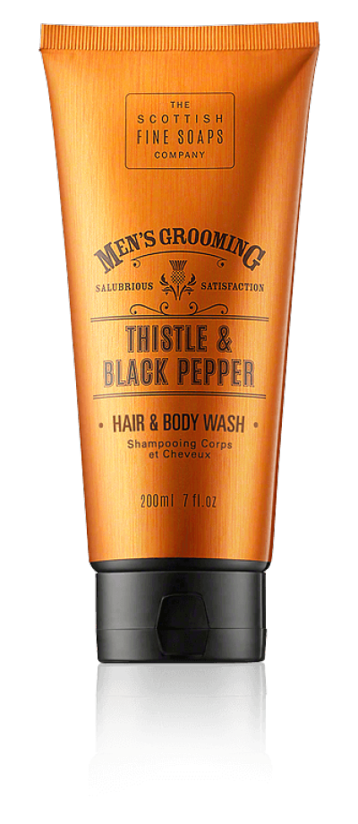 The Scottish Fine Soaps Thistle & Black Pepper Hair & Body Wash