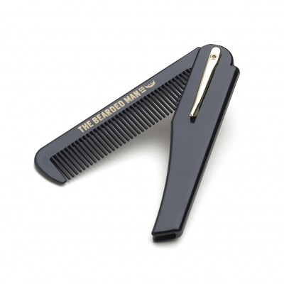 The Bearded Man Company Folding Beard Comb