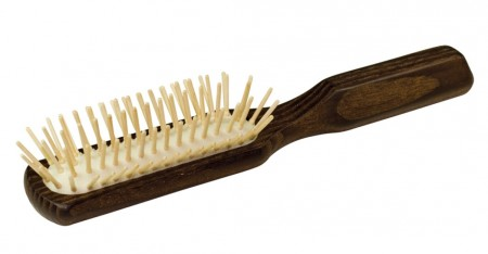 Hermod Beard Brush Maple Pins, Thermowood