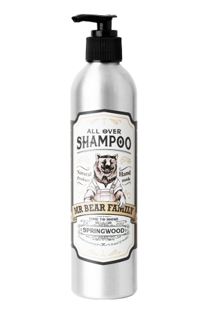 Mr Bear Family All Over Shampoo Springwood 250 ml