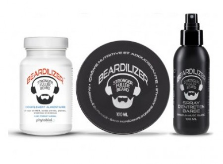 Beardilizer  Beard Growth Pack
