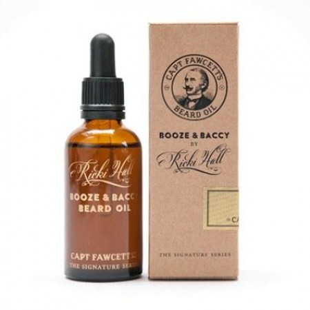 Captain Fawcett Beard Oil Ricki Hall's Booze & Baccy 50 ml