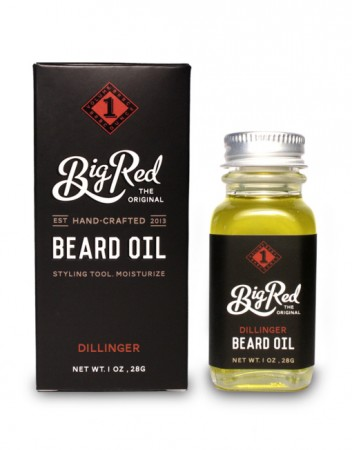 Big Red Beard Oil - Dillinger 30 ml