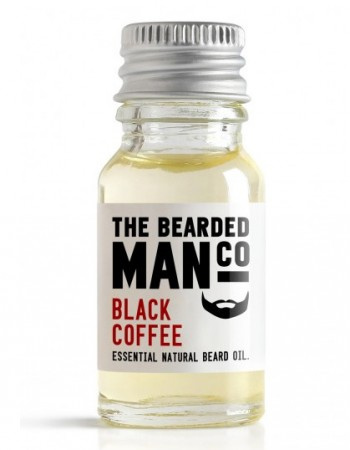 The Bearded Man Company Beard Oil Black Coffee 10 ml