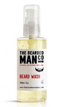 The Bearded Man Company Beard Wash