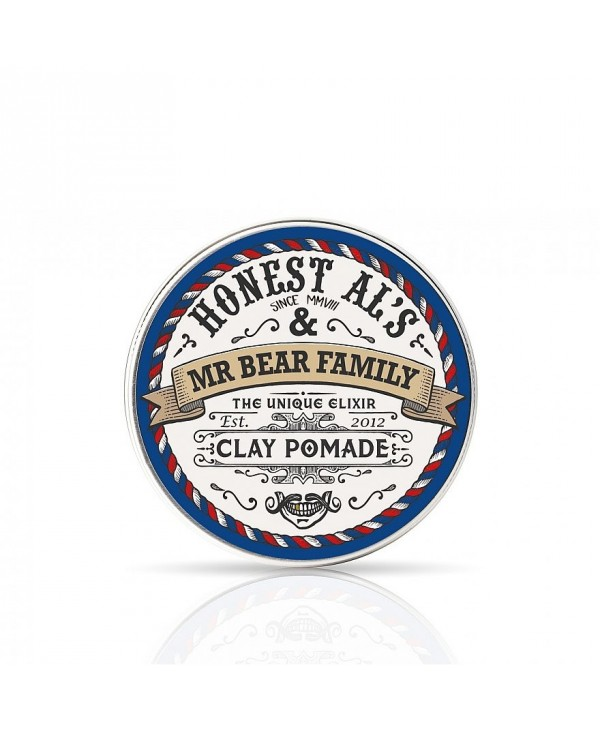 "Mr Bear Family Pomade Matt Clay Collaboration ""Honest Al"""