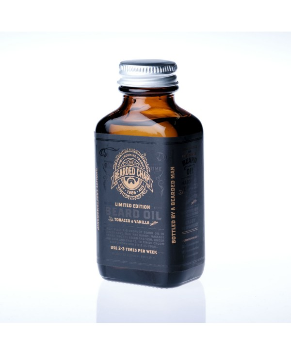 The Bearded Chap Tobacco & Vanilla Beard Oil 90 ml
