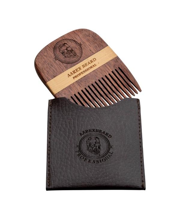 Aarex Beard Comb Mahogany No. 05