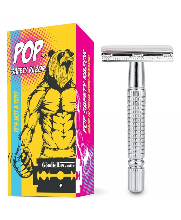 The Goodfellas' Smile Classic Pop Safety Razor