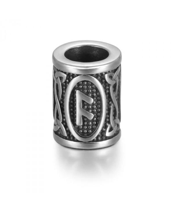 Viking Rune Beads - Ansuz (Odin)