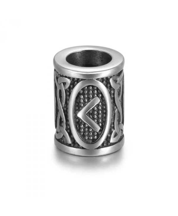 Viking Rune Beads - Kaunaz (Fire)