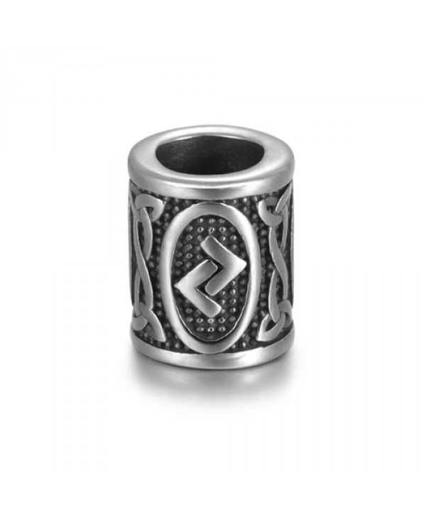 Viking Rune Beads - Jera (Earth)