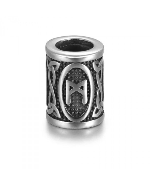 Viking Rune Beads - Mannaz (Man)