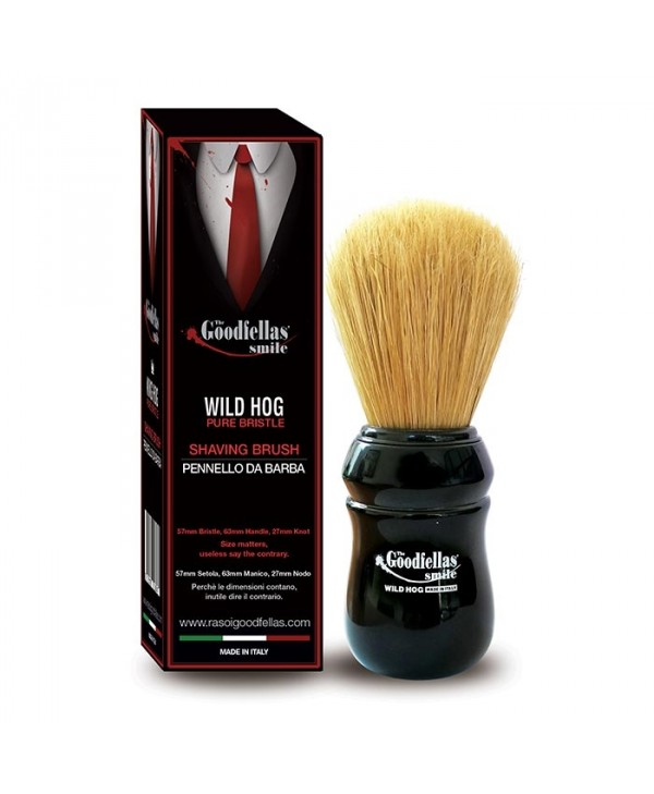 The Goodfellas' Smile Wild Hog by Omega Brushes