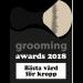Grooming Awards 2018 - Bästa vård för kropp