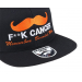 Bearded Man Apparel Movember Black Snapback