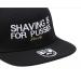 Bearded Man Apparel Shaving Black Snapback