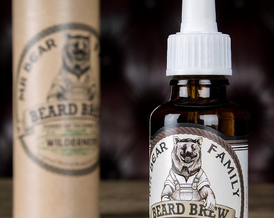 mr beard skäggolja