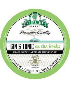 Stirling Soap Company Gin & Tonic Shaving Soap