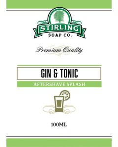 Stirling Soap Company Gin & Tonic Aftershave Splash