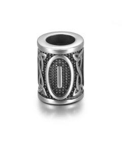 Viking Rune Beads - Isa (Ice)