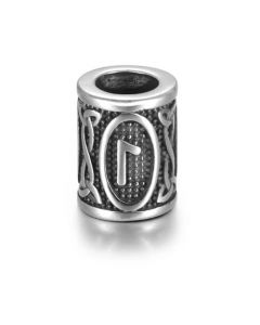 Viking Rune Beads - Laguz (Water)