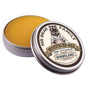 Mr Bear Moustache Wax Woodland