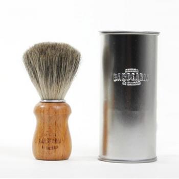 Antiga Barbearia de Bairro Shaving Brush med grävlingshår