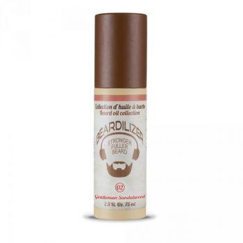 Beardilizer Beard Oil Gentleman Sandalwood förpackning