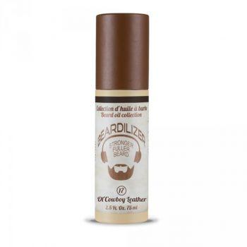 Beardilizer Beard Oil Ol' Cowboy Leather förpackning