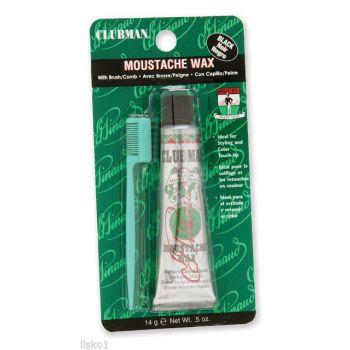 Clubman Moustasche Wax Black