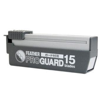 Feather Professional Pro Guard Straight Razor Blades 15-p