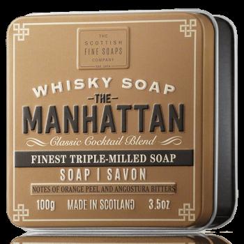 The Scottish Fine Soaps Whisky Soap Manhattan