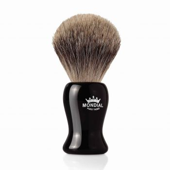 Mondial Gibson Shaving Brush Grey Badger