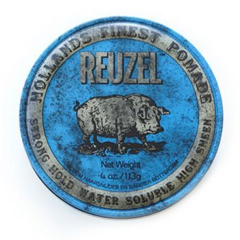 Reuzel Strong Hold Pomade Water Soluble Blue