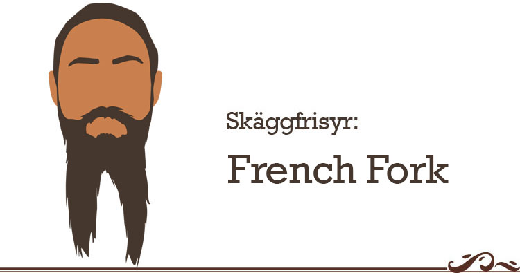 skäggfrisyr french fork