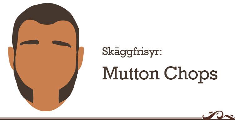 skäggfrisyr mutton chops